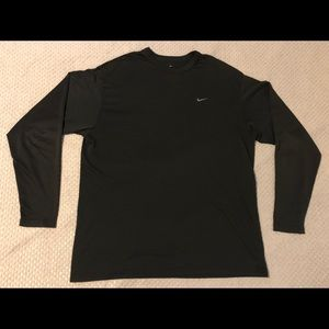 Nike Long Sleeve Embroidered Logo Jersey T-Shirt